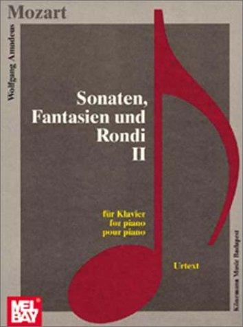 Sonaten, Fantasien und Rondi (Music Scores)