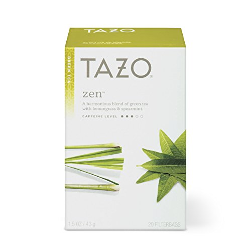 Tazo Zen Green Tea Filterbags , 20 Count (Pack of 6)