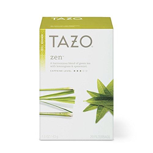 Tazo Zen Green Tea Filterbags, 20 Count (Pack of 6)