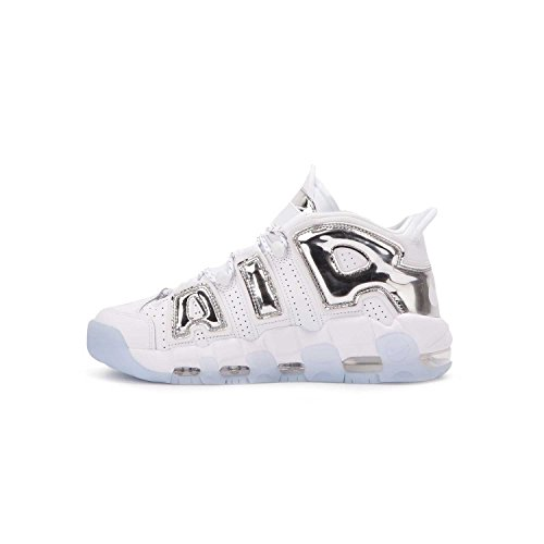 Nike White Uptempo Basket Donna chrome More Scarpe blue Tint Da Air aqUrgafw