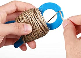 20 Pieces Large Yarn Bobbins Spool Weave Winder Tool Cross Stitch Bobbin Organizer Thread Holder in 5 Colors