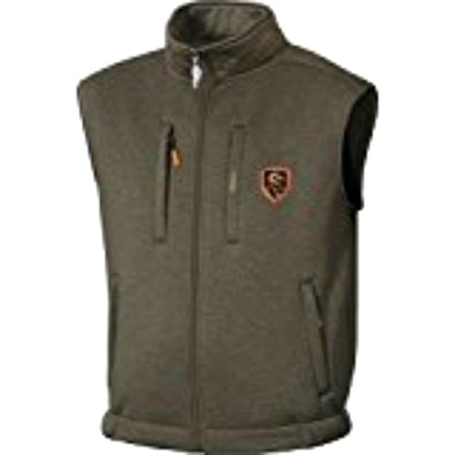 Non-Typical Soft Shell Fleece Vest Olive Size X-Large