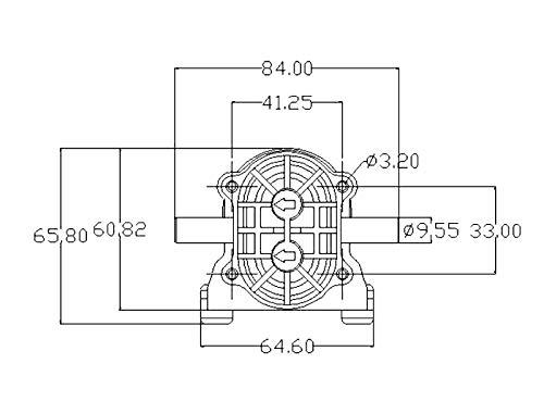 Pompa autoadescante ad alta pressione della pompa autoadescante di CC ad alta temperatura della pompa a ingranaggi di 24V Micro