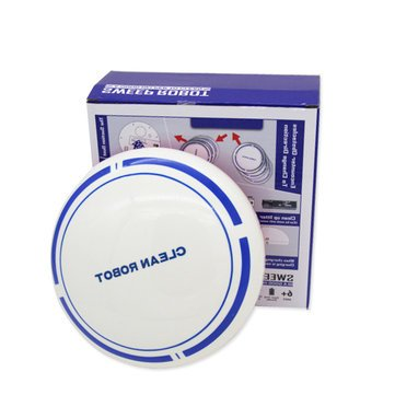 Mini Smart Robot Vacuum Cleaner Powerful Suction Smart Clean Wall Edge - Vacuums & Floor Care Robot Vacuums - (white) - 1 x Fabrics Sweater Fuzz Shaver ()