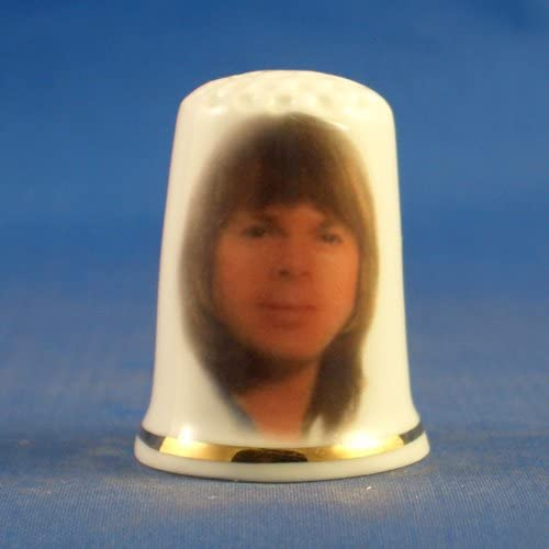 Free Gift Box Porcelain China Collectable Thimble Vintage Abba Bjorn