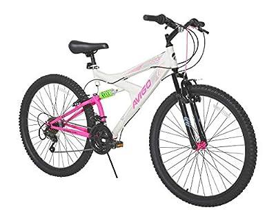 """Avigo Double Divide 26"""" Bike, White, 18""""/One Size"""