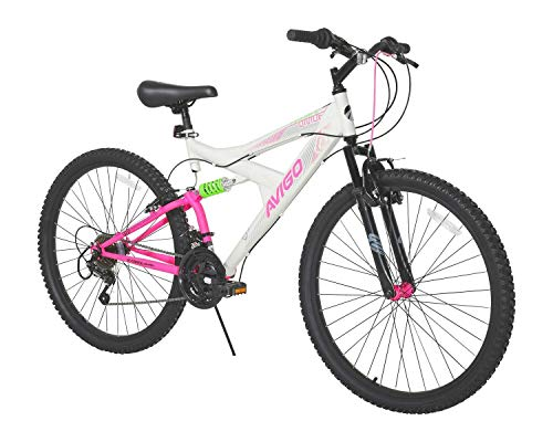 "Avigo Double Divide 26"" Bike, White, 18""/One Size"