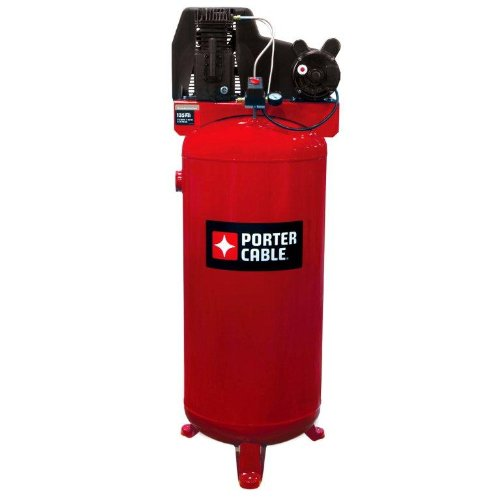 Porter Cable PXCMLC3706056 60-Gallon Single Stage Stationary Air Compressor