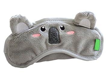 Amazon.com: Gent House Funny Koala Soft Velvet Eye Sleep ...