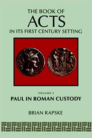 Book's Cover of The Book of Acts and Paul in Roman Custody (Book of Acts in Its First Century Setting) (Inglés) Tapa blanda – 1 septiembre 1994