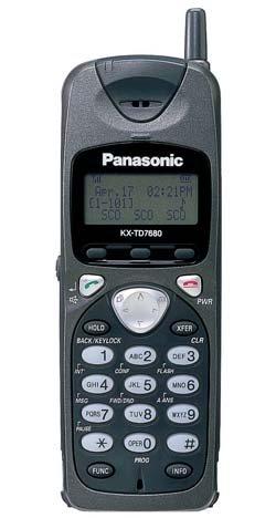 Panasonic KX-TD7680 2.4GHz Wireless Phone ()