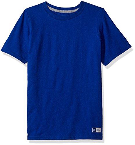 Russell Athletic Boys' Big Essential Short Sleeve Tee, Royal ()