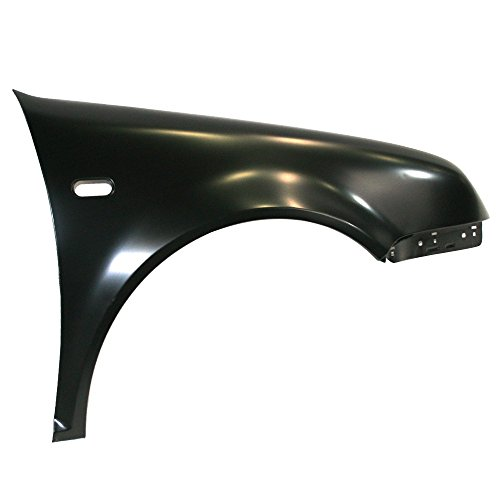 Titanium Plus 1999-2005 Volkswagen Jetta Front,Right Passenger Side FENDER WITH SIDE LAMP HOLE -