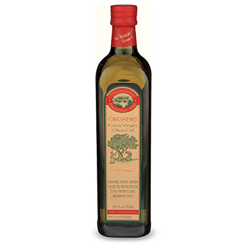 Montebello Organic 750 ml Extra Virgin Olive Oil from Italy, 25.36-Ounce