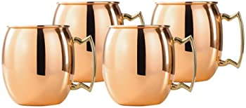 4 Set Old Dutch OS428H Copper Mule Mug