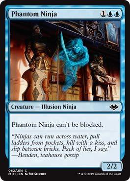 Amazon.com: Magic: The Gathering - Phantom Ninja - Lámina ...