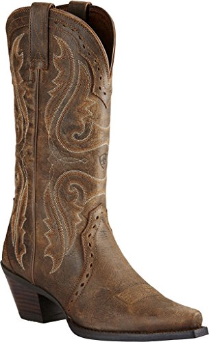Ariat Women's Heritage X Toe Western Cowboy Boot, Vintage Bomber, 8.5 B (Vintage Cowboy Boot)