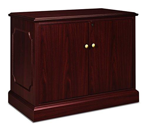 HON 94284LNN 94000 Series 66 by 30 by 29-1/2-Inch Single Left Pedestal Desk, Mahogany - Executive Series Single Pedestal