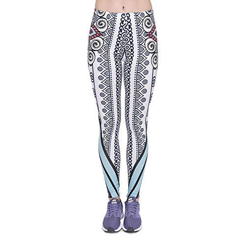 Alta Moda Yoga Leggings Legging Lga46011 Da Stampa Donna Unico Vita Mandala Alti A Fitness Pantaloni Sun Elastici 7wUx1SB