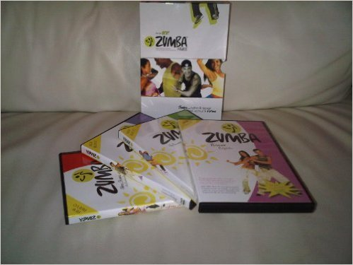 ZUMBA FITNESS 4DVD BOX-SET (BEGINNERS, ABS BUNS AND THIGHS, POWER,...
