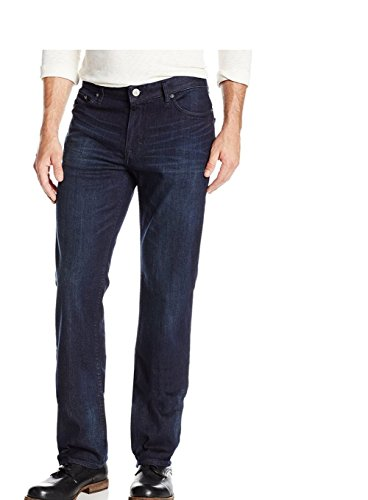 Calvin Klein Mens Classic Straight Leg Jeans, Osaka Blue, 34 x (Calvin Klein Classic Jeans)