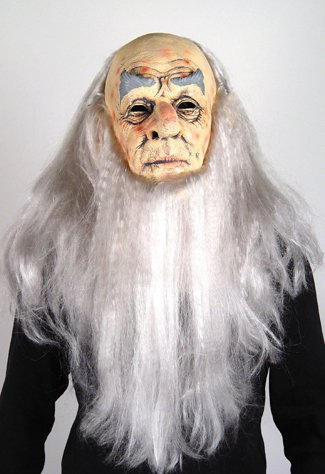 Wise Old Man Costume (Wizard Mask Costume Item)