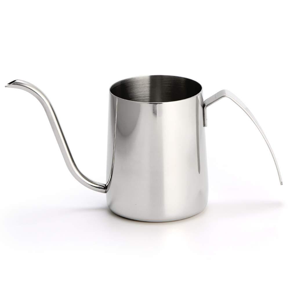 Acquisto QETU Caffettiera a Becco Lungo Lungo 350ml – a Collo di Cigno Versare sopra la caffettiera, versare sopra Il caffè, Funziona a Gas,A Prezzi offerta