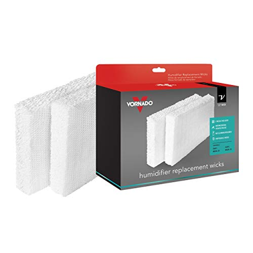 (Vornado MD1-0002 Replacement Humidifier Wick (2-Pack) (Renewed))