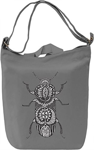 Insect Borsa Giornaliera Canvas Canvas Day Bag| 100% Premium Cotton Canvas| DTG Printing|