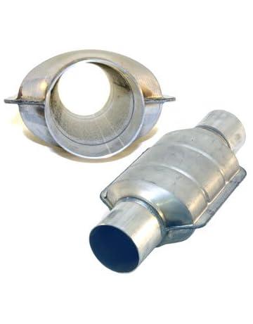 AllFlow Non Catalytic Converter, Mild Aluminized Steel - 2.5
