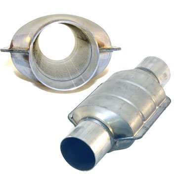 - AllFlow Non Catalytic Converter, Mild Aluminized Steel - 2.5