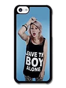 AMAF ? Accessories Ellie Goulding Singer Leave The Boy Alone case for iPhone 5C