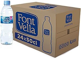Font Vella - Agua Mineral Natural - Caja 24 x 50Cl: Amazon.es ...