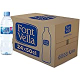 Font Vella - Agua Mineral Natural - Caja 24 x 50Cl