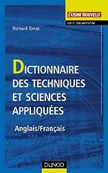 Dictionnaire des techniques et sciences appliquées (Anglais - Français)