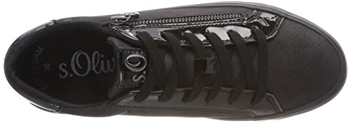 Noir Oliver 23615 2 Basses 21 Antic Black Sneakers Femme s PFqwYpUU