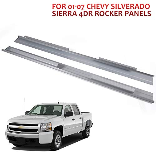 Fit For 1999-2007 chevy Silverado GMC Sierra 4 Door Extended Cab Inner /& Outer Rocker Panels Protector And Cab Corners Kit Replacement 1 Pair