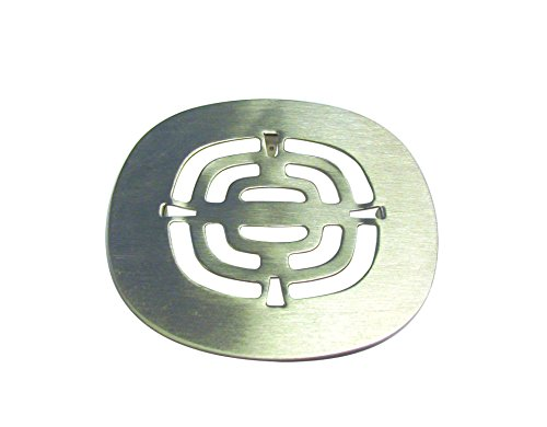 - Westbrass Brass Snap-In Shower Strainer Grid, Satin Nickel, D316-07