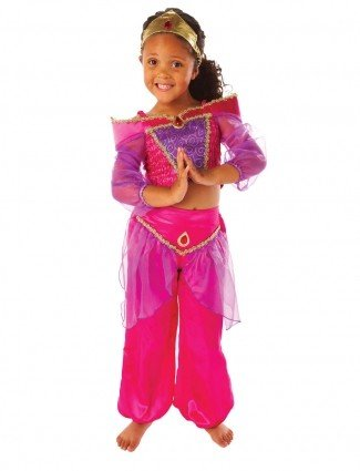 Girls Kids Childrens Arabian Princess Jasmine Fancy Dress Party Costume 6-8 Years  sc 1 st  Amazon UK & Girls Kids Childrens Arabian Princess Jasmine Fancy Dress Party ...