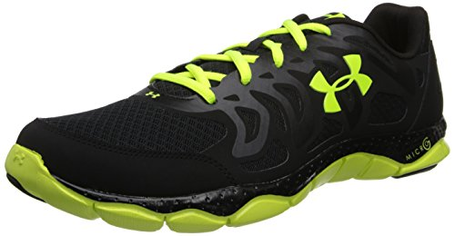 Under Armour Micro G Engage Sz 7.5 Mens Running Shoes Black New In Box
