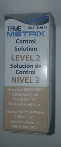Control Solution Level 2 for TRUE Metrix Meter (1 Each)
