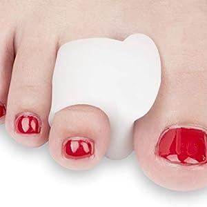 FEETFIX Bunion Corrector Toe Separators – Minimally Invasive Gel Hallux Valgus Big Toe Straightener Protector Splint… 7