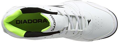 Bianco Tennis Diadora Bianco Ottico Nero Uomo VI da Star Scarpe Club O81qX