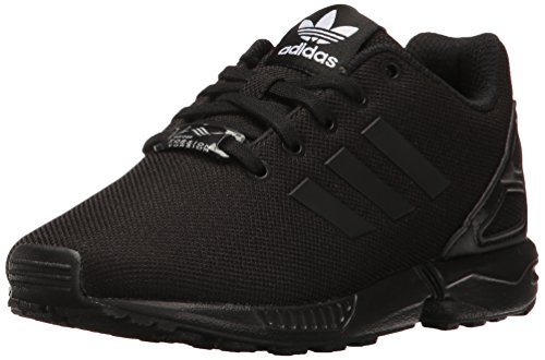 adidas Originals Boys' ZX Flux C Running Shoe, Black, 1.5 M US Little Kid (Shoes Adidas Zx)