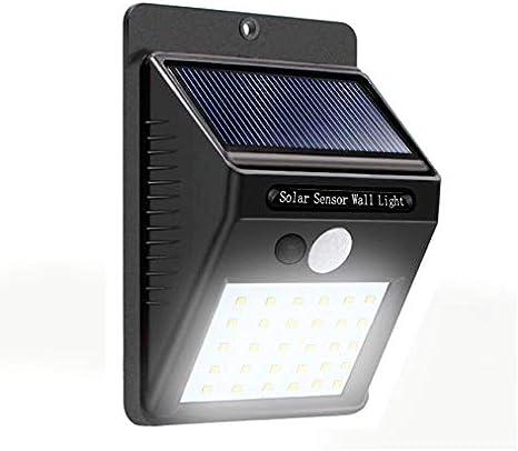 Lampara Con Sensor De Movimiento 30 Leds Para Exteriores Permanece Con Luz Tenue Hasta Que Detecta Movimiento Enciende Al 100 Mx Hogar Y Cocina