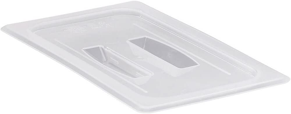 Cambro 30PPCH190 Food Pan Cover 1/3 size with handle - Case of 6