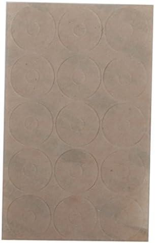 Hellery 約15枚 リング 定規用シート 縫製 クラフト 滑り止め 環状シート 切断精度 手芸 アクセサリー