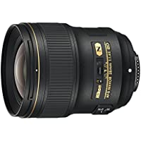 Nikon AF-S NIKKOR 28mm f/1.4E ED f/1.4-16 Fixed Zoom Camera Lens, Black