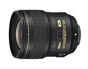 Nikon AF-S NIKKOR 28mm f/1.4E ED f/1.4-16 Fixed Zoom Camera Lens, Black