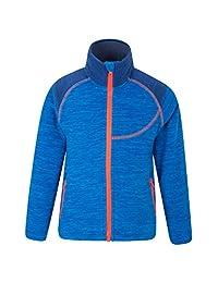 Mountain Warehouse Snowdonia Kids Fleece Blue 11-12 years